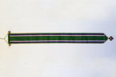 Stuha se záslužným křížem zadní strana
