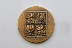 Pamětní medaile zadní strana